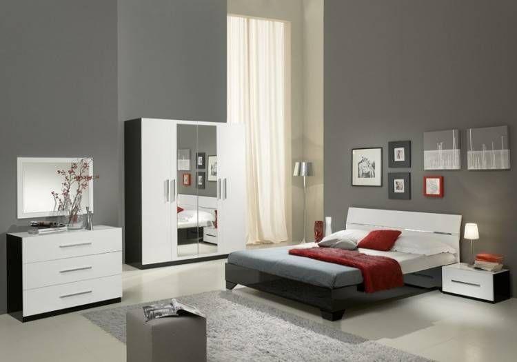 mobilier de chambre a coucher en bois