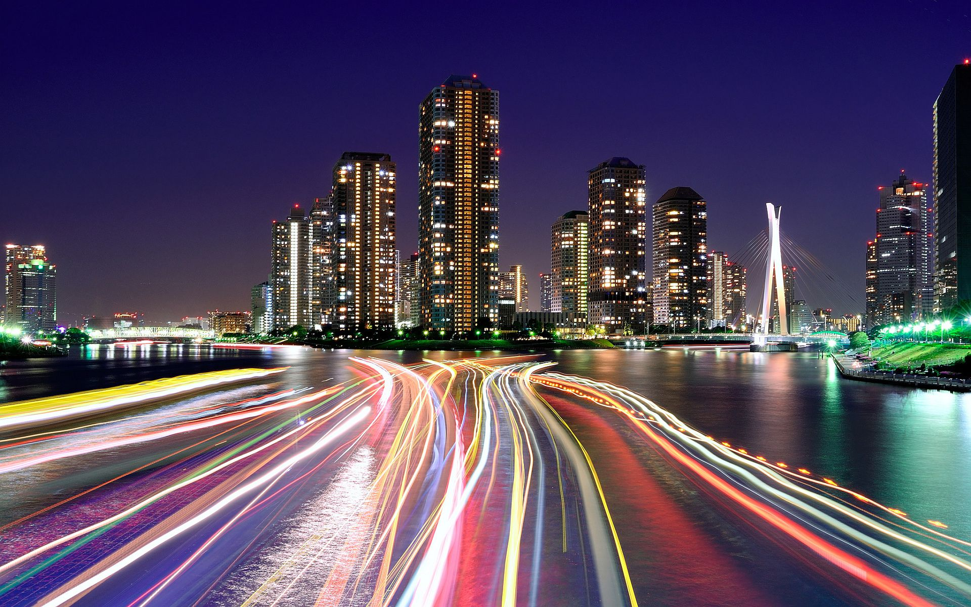 Love at the Speed of Life City lights at night, City
