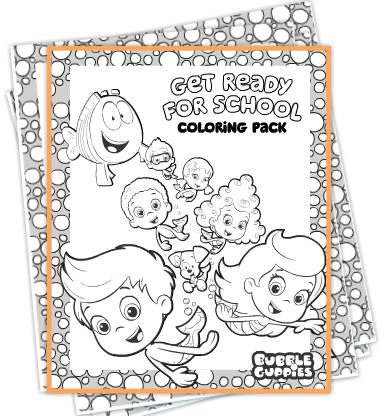 FREE Bubble Guppy Coloring Pages | Bubble Guppies | Pinterest | Recetas