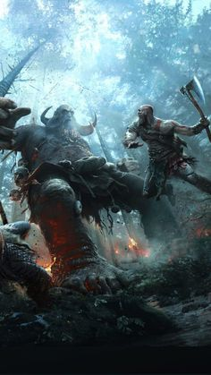 Pack de Fondos de Pantalla de God of War