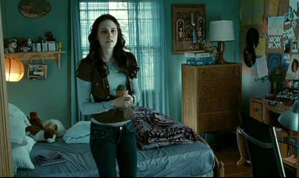 Bella's bedroom in Twilight movie