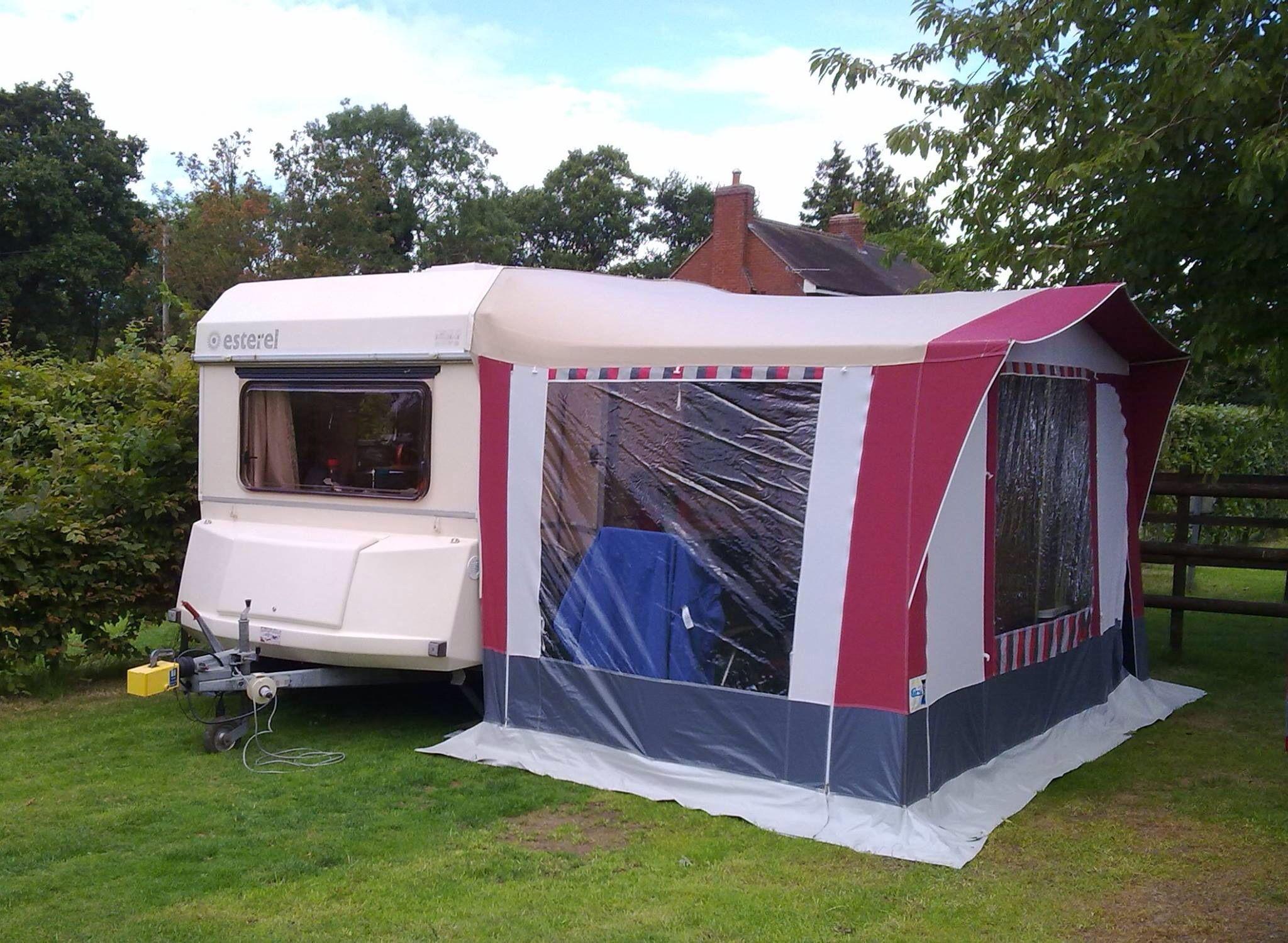 Esterel Top Volume 3 Berth With Awning Vintage Camper Camper Caravan Recreational Vehicles