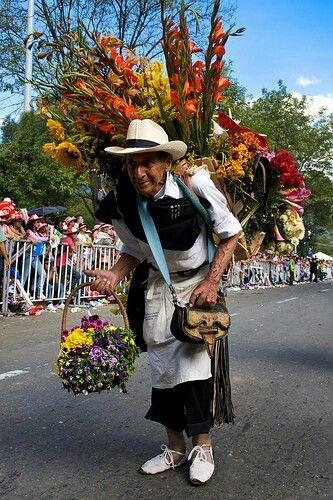 Desfile de silleteros, Feria de las flores Medellín