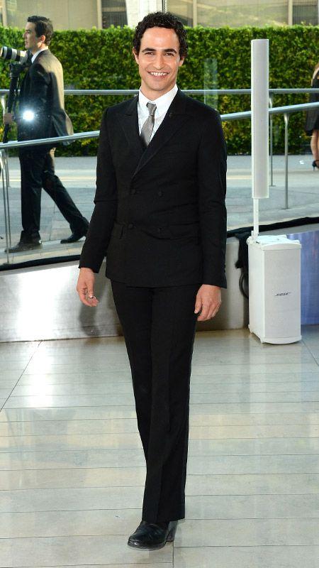 ZAC POSEN Designer Zac Posen (who won the CFDA's Perry Ellis Award for Menswear in 2004).
