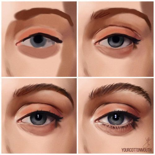 Photo of how I paint eyes by YourCottonmouth – Jack – #eyes #Jack #kloster #paint #YourCo… – Gladys