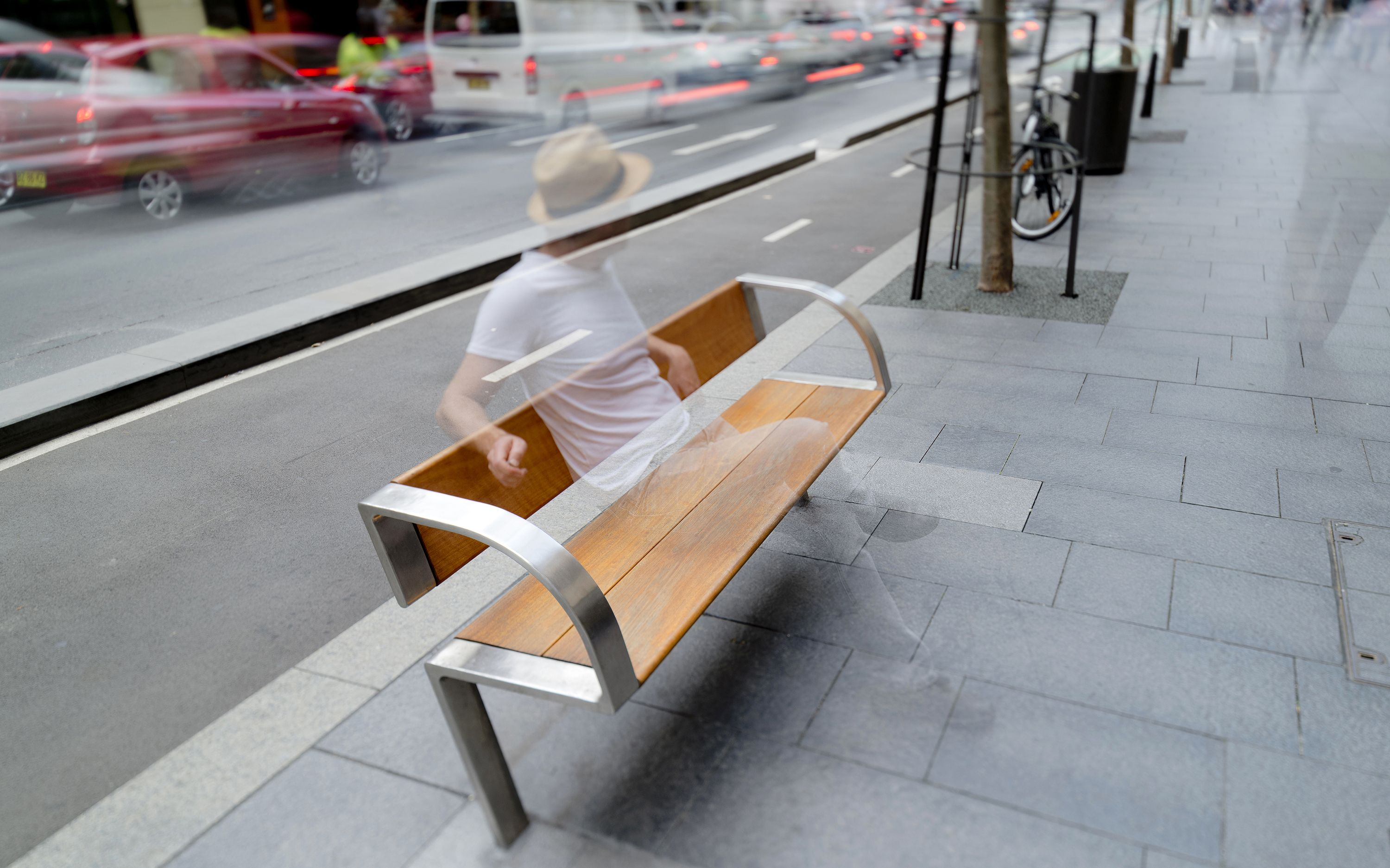 Urban Design Commendation City Of Sydney Public Domain Furniture By Tzannes Photo By Ben Guthrie