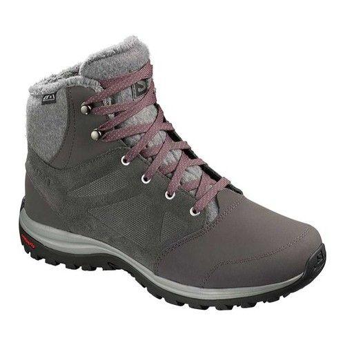 Salomon Ellipse Freeze ClimaSalomon Waterproof Boot #winteroutfitsforschool