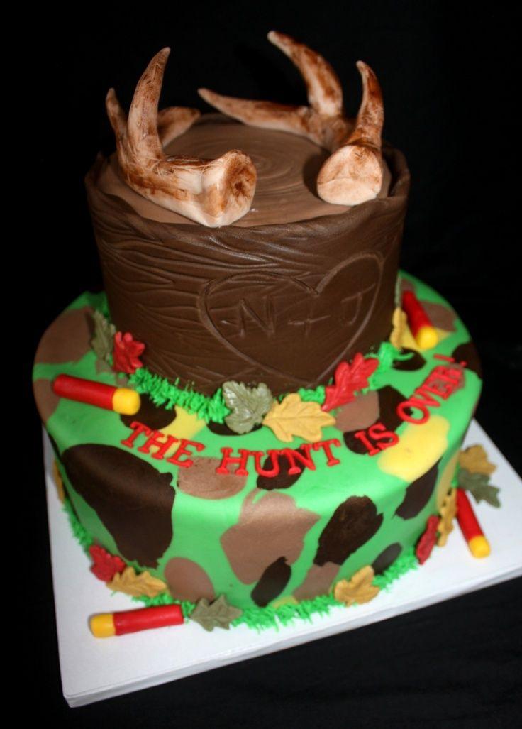 hunting cakes for men Hunting Cakes Birthday ideas Pinterest