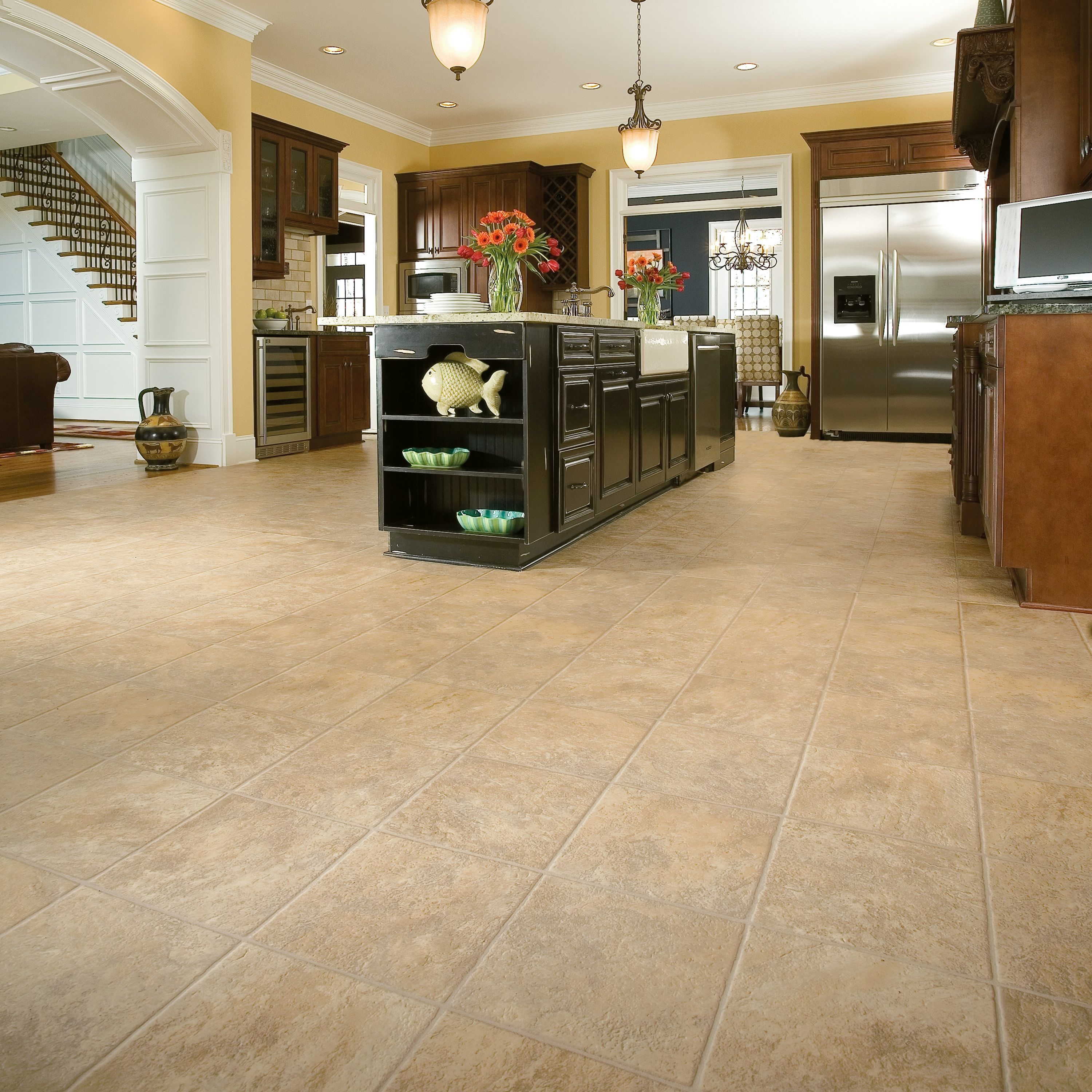 Vinyl flooring that looks like limestone Vinyl flooring