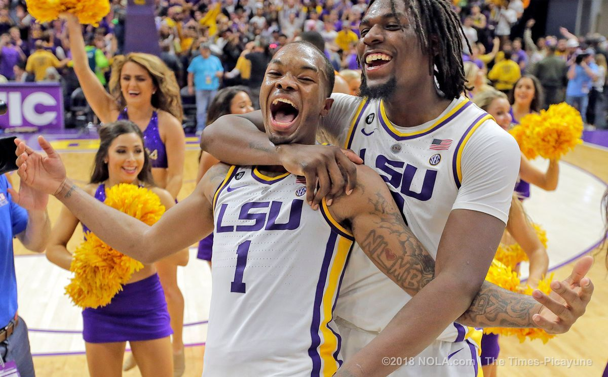 Lsu Basketball Is Back And The Magic Of The Pmac Is Alive And Well Lsu Basketball Tennessee Game