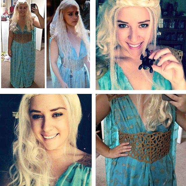 I reallllllly want to dress up daenerys targaryen for Daenerys targaryen costume tutorial