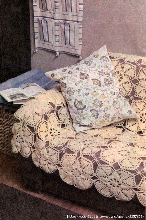Crochet: COVER BEDSPREAD | Colchas a crochet | Pinterest | Colchas ...