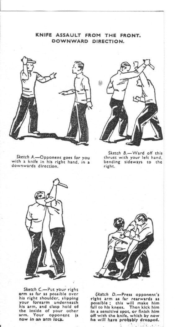 Manual of Commando and Guerilla Warfare Unarmed Combat