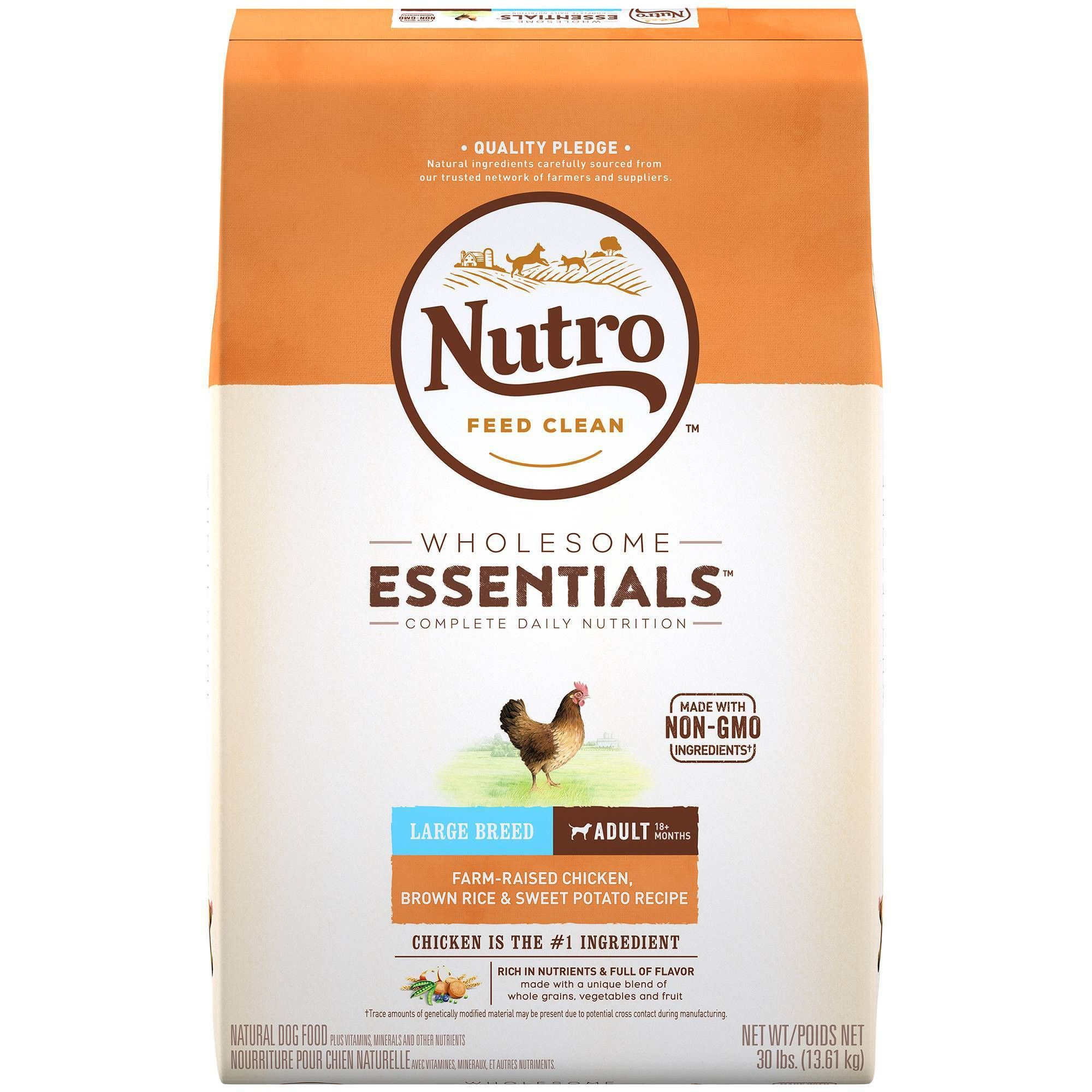 Nutro Wholesome Essentials Large Breed Adult Chicken Rice Dry