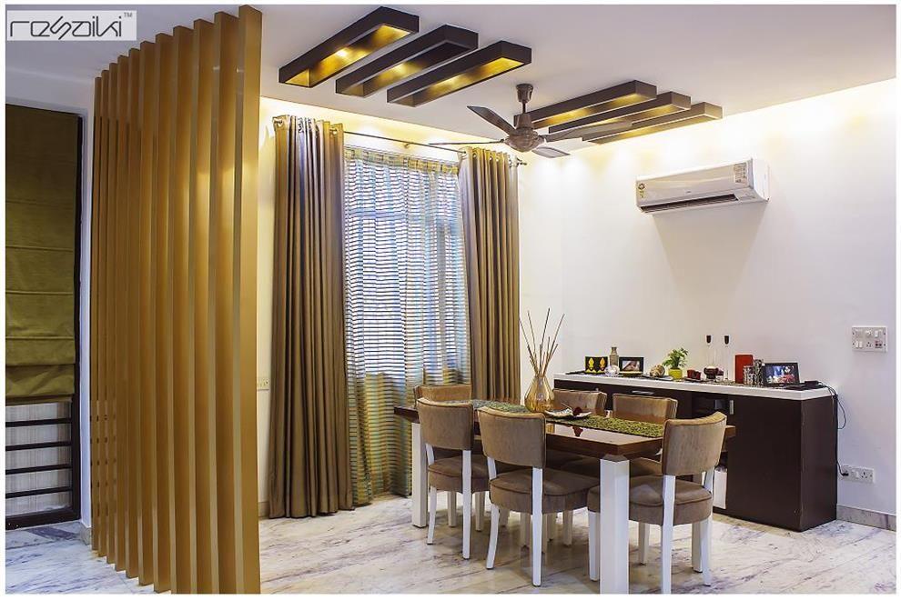 Resaiki Interiors Dining Area By Nikhil Interior Interior