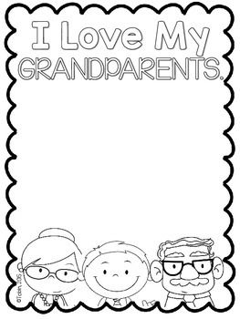 Grandparents' Day Writing Activity