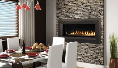 vrl4543 linear vent free fireplace fireplace system linear