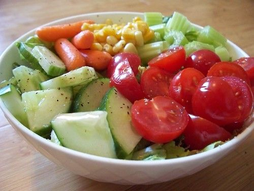 hookedonhealth:  31 Day Salad Challenge: Day 1May is National...