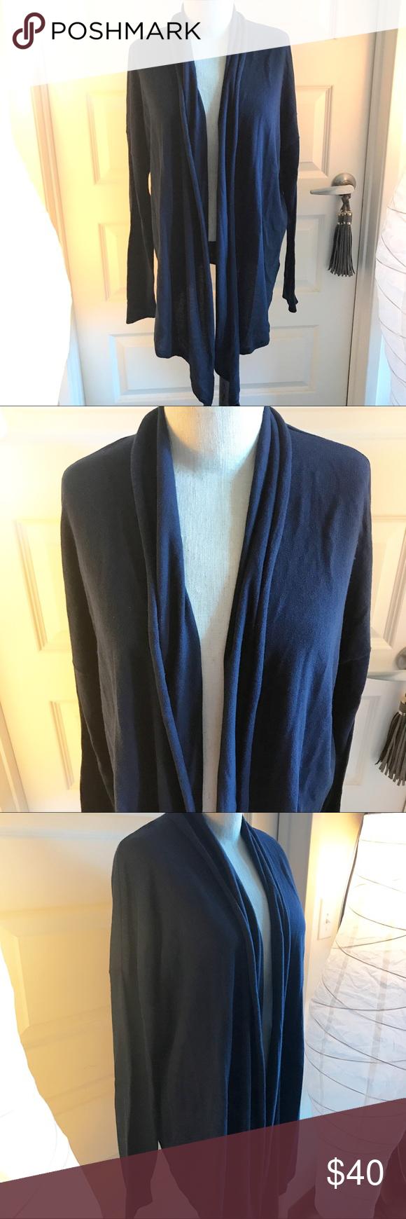 Gap Women Cardigan Navy Blue Soft Boho Sweater LRG Boutique | Gap ...