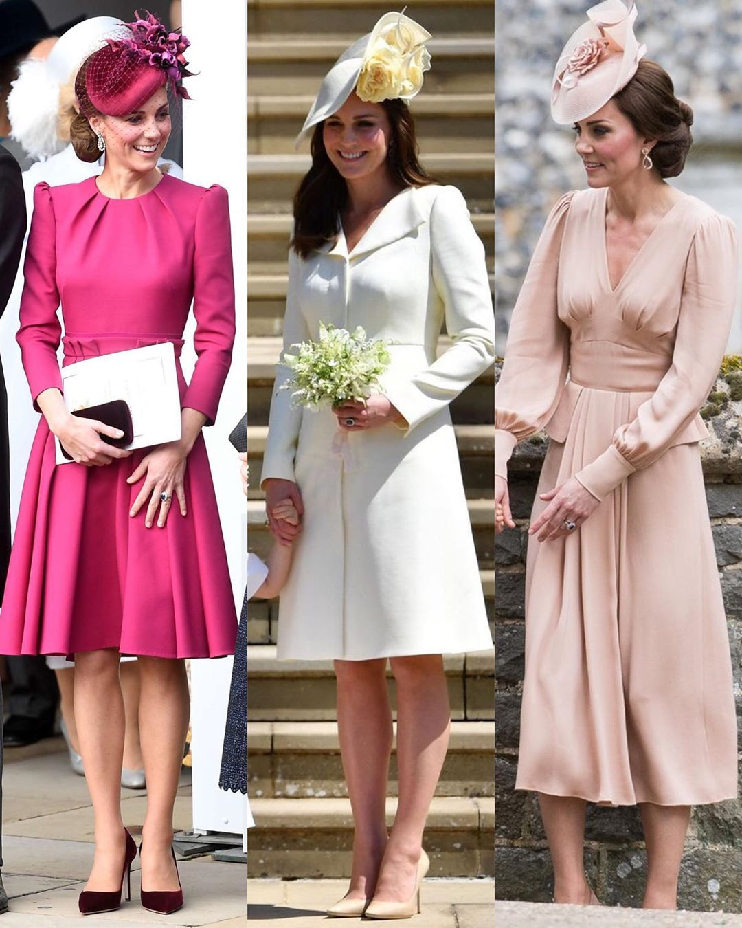 The Duchess Of Cambridge S Wedding Guest Outfits To See Her Pre Royal Wedding Appearances Visi Guest Outfit Wedding Guest Outfit Royal Wedding Guests Outfits [ 1350 x 1080 Pixel ]