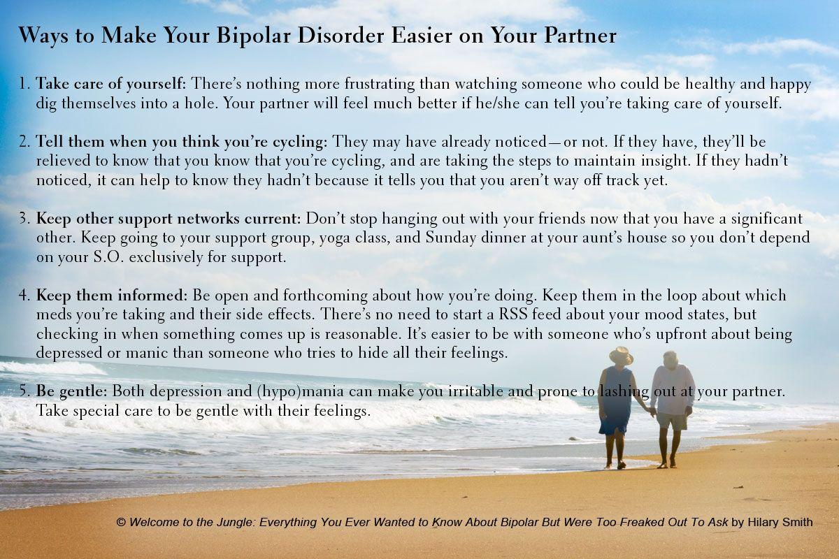Ways to Make Your #Bipolar Disorder Easier on Your Partner (#mentalillness  #mentalhealth