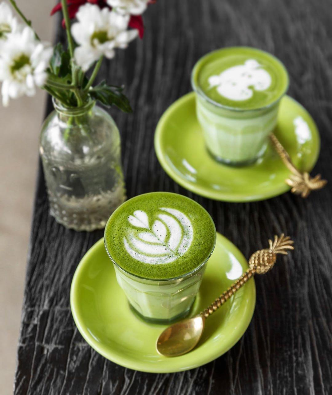 Photo of How do you like your matcha latte? 💚