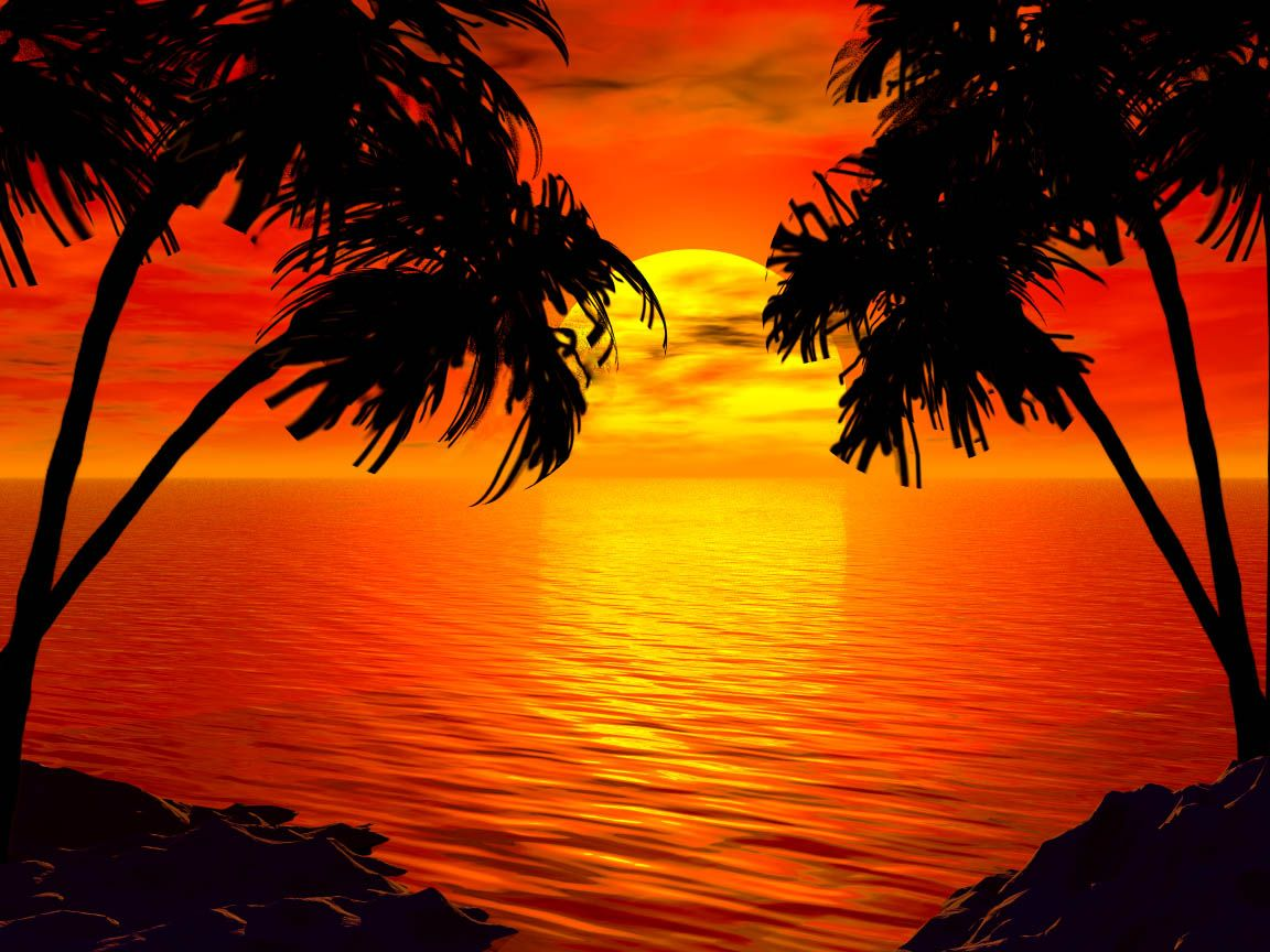 Another Tropical Sunset by intothemoonbeam on DeviantArt
