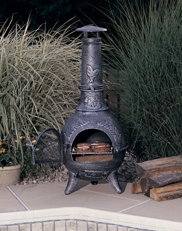 Clay Mexican Chiminea Parts Chiminea Outdoor Heating Container Herb Garden