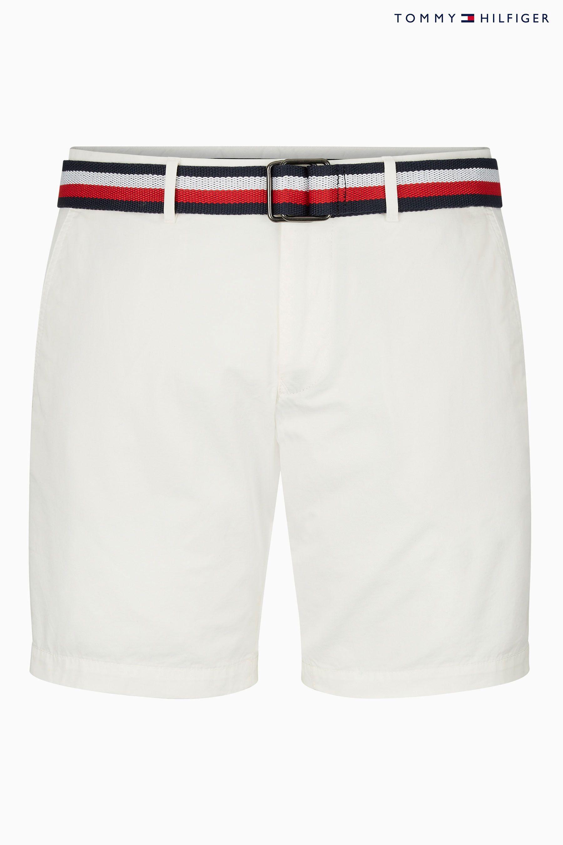White Tommy Hilfiger Men/'s Brooklyn Shorts