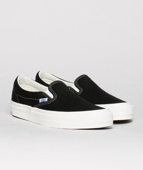4a829697387 The Vans OG Classic Slip on LX is based on the original silhouette  featuring a slightly more prominent outsole and foxing in comparison to the  regular slip ...