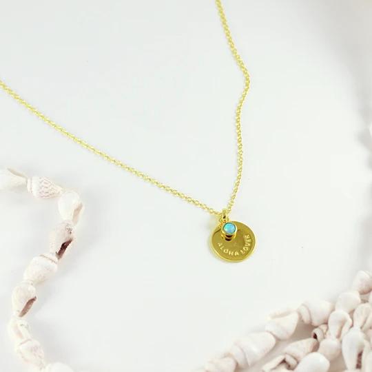 Aloha Lover Opal Necklace – MishaHawaii