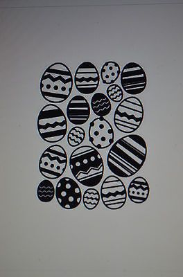 Easter-Eggs-Embossing-Folder by Darice. . Can be found in my ebay store  & Can be purchased in my ebay Store Pat's Rubber Stamps & Scrapbooks, click on the picture to see it, or call me 423-357-4334 with order, or come by 1327 Glenmar Ave. Mt Carmel, TN 37645, Pat's Rubber Stamps & Scrapbook supplies 423-357-4334. We take PayPal. You get free shipping with the phone orders of $30.00 or more. Use my search engine to find them