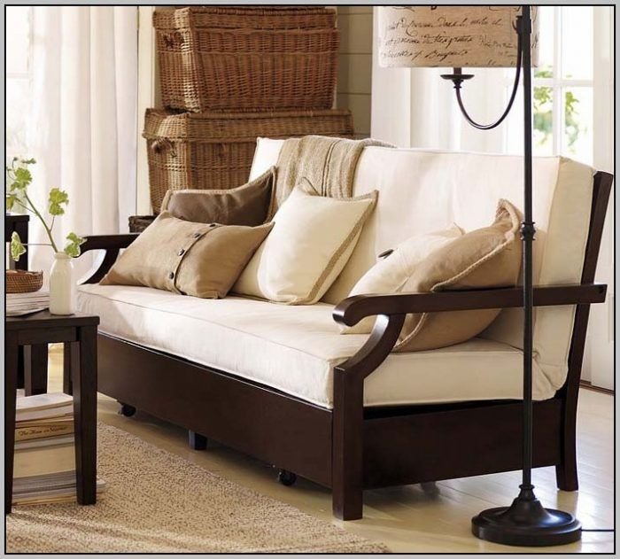 Pb futon sofa living room design by pottery barn homey also the best house designs images on pinterest contemporary houses rh
