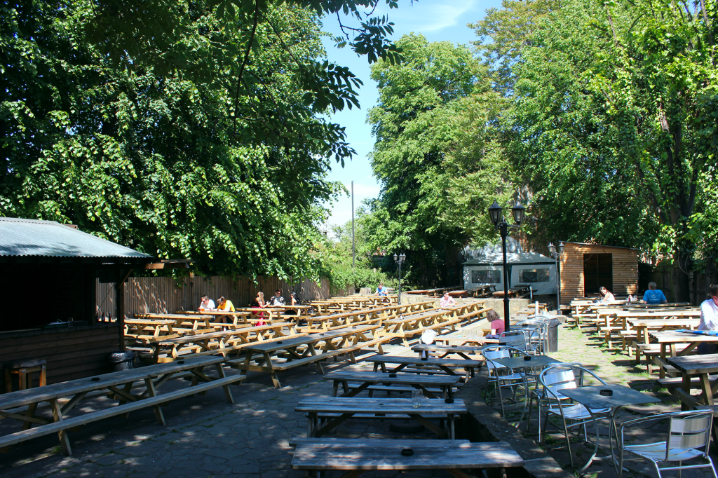 Sometimes all you need is a bunch of picnic tables -- duke of ...