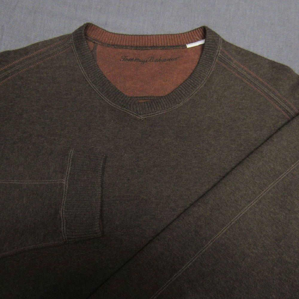 Tommy Bahama Reversible V Neck Cotton Sweatshirt Xl Markin Perfect Top Quality Cotton Sweatshirts Shirts Mens Outfits [ 1000 x 1000 Pixel ]