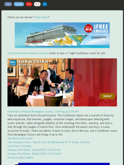 Enter To Win A 7 Night Caribbean Cruise For 2 Norwegian Cruise Line Caribbean Cruise Caribbean