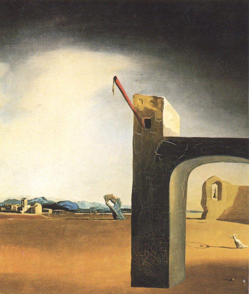 Astounding Dali Werke Dekoration Von Salvador Dalí, Morphological Echo (1934–36
