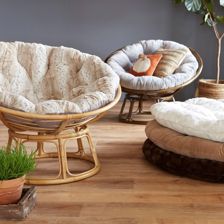 Papasan Natural Chair Frame Pier 1 Imports Taupe Chair