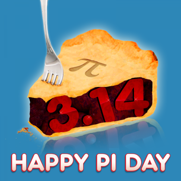 Happy PiDay have an Irrational Time today ) Happy