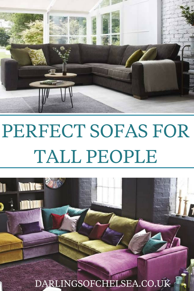 Grand Sofas for Tall People