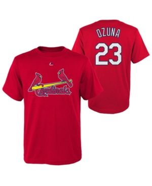 the latest 9c316 6bdbc Majestic Marcell Ozuna St. Louis Cardinals Official Player T ...