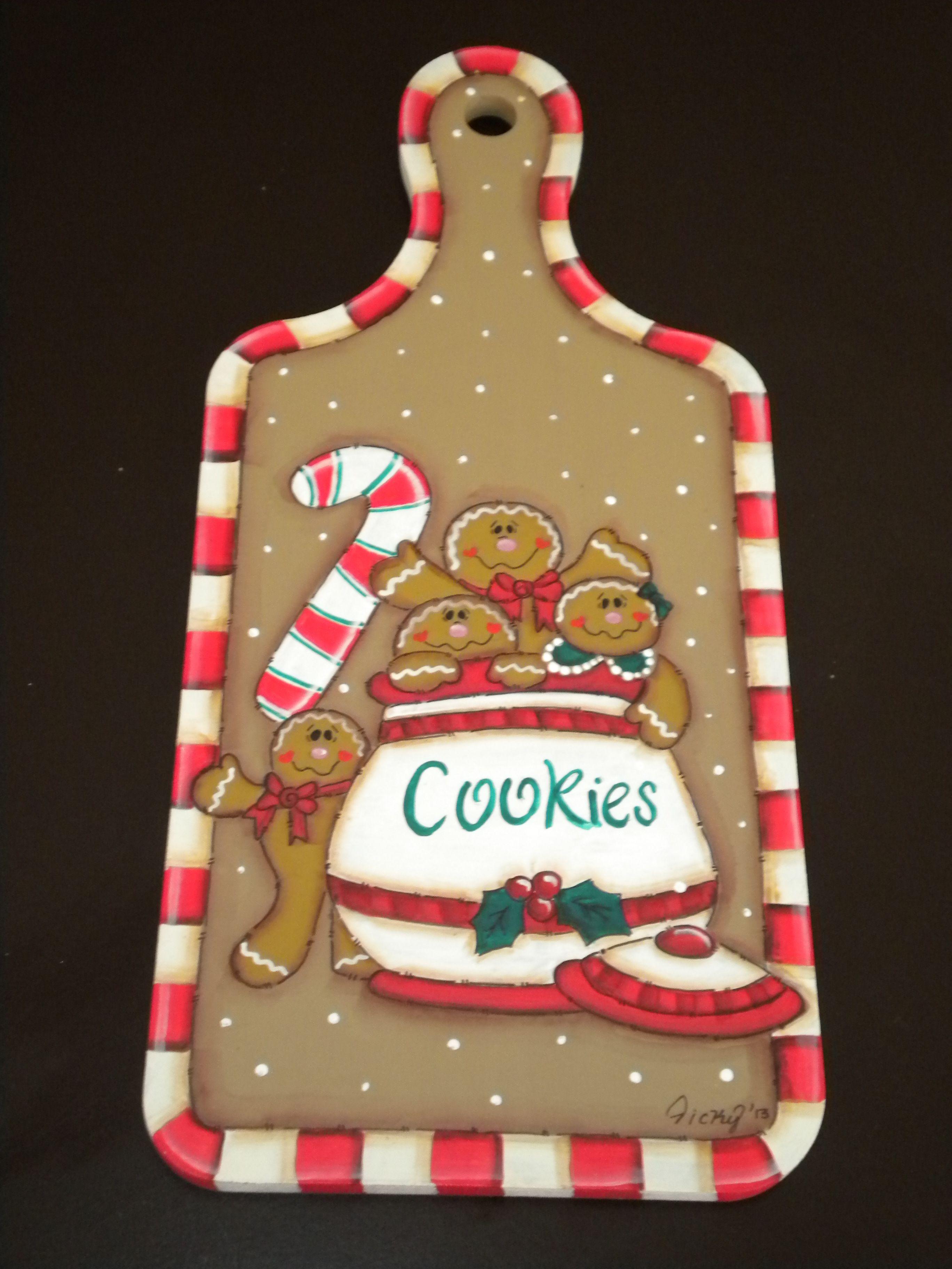 Tabla de picar adorno para cocina navidad christmas - Adornos para la cocina ...