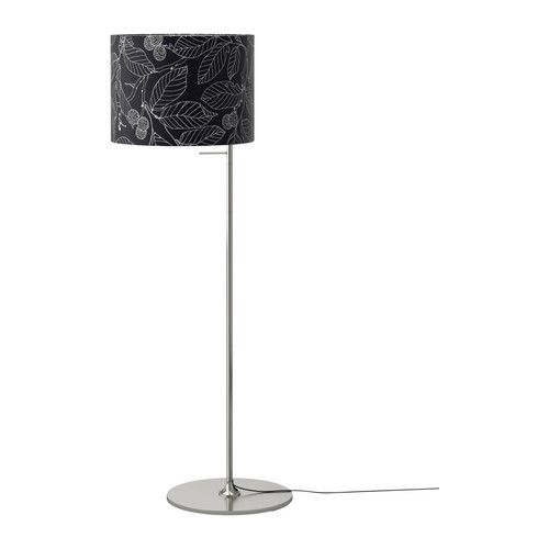 IKEA STOCKHOLM Floor lamp IKEA Shade made of textile; gives a ...