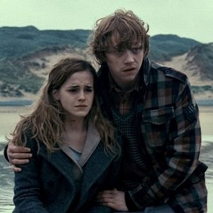 Ron Weasley and Hermione Granger