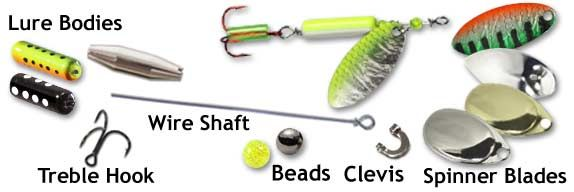 Fishing Spinner Parts