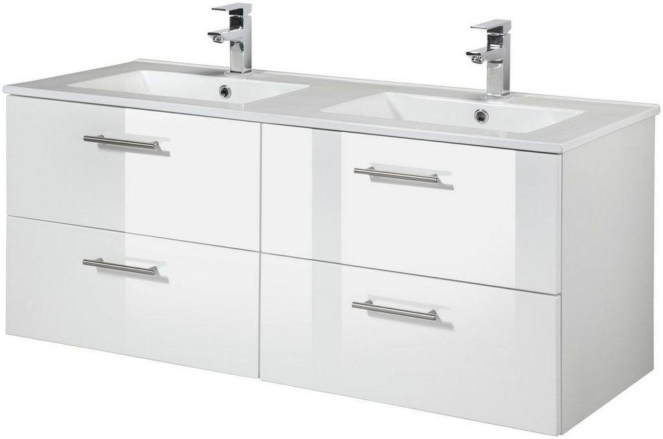 Waschtisch »Trento«, Breite 120 cm, Doppelwaschtisch ...