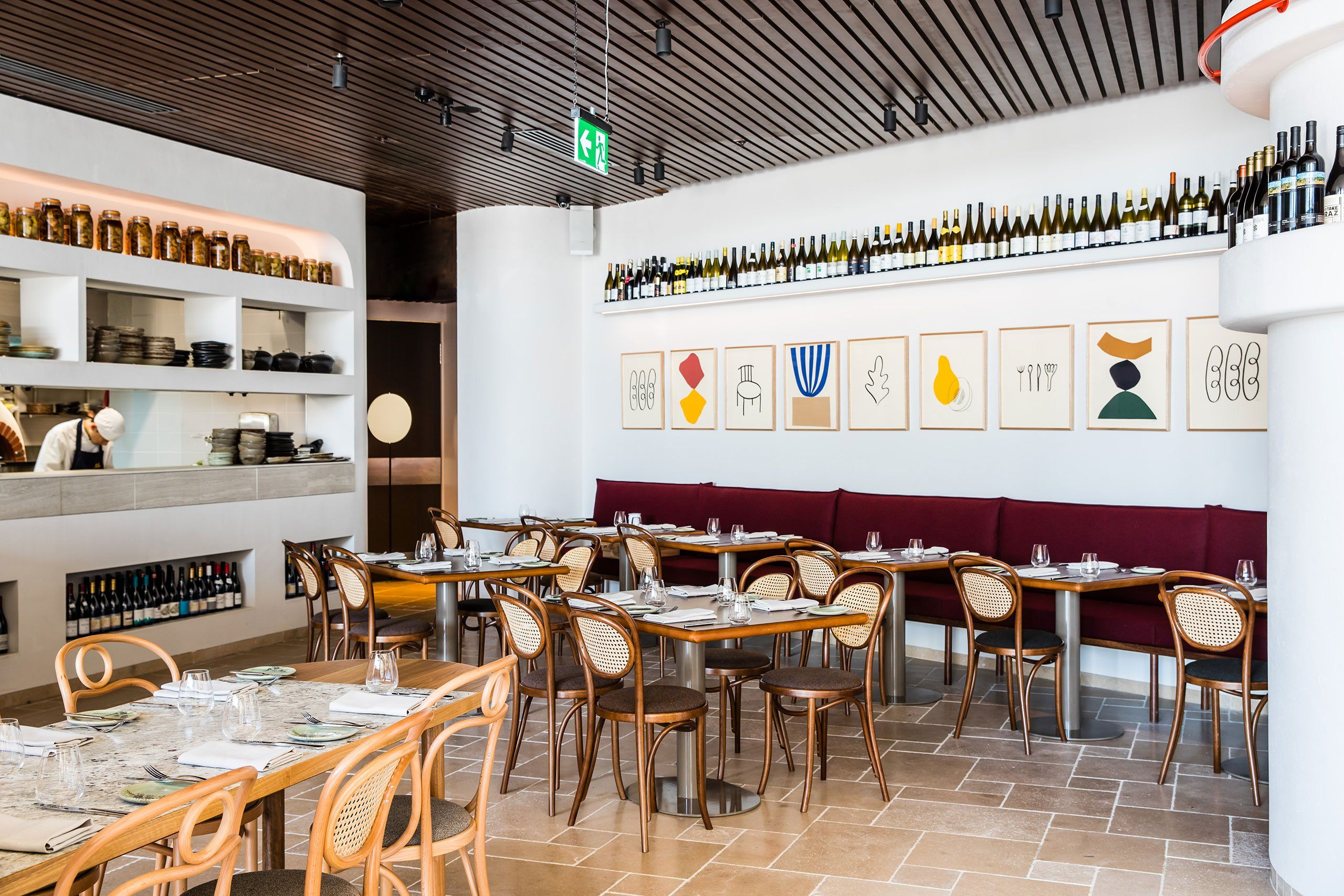 Traditional Provence Meets Contemporary Australia In Sydneys T Restaurant -