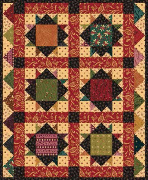 Sunday Supper Quilt Pattern by Henry Glass Fabrics | Quilts and ...
