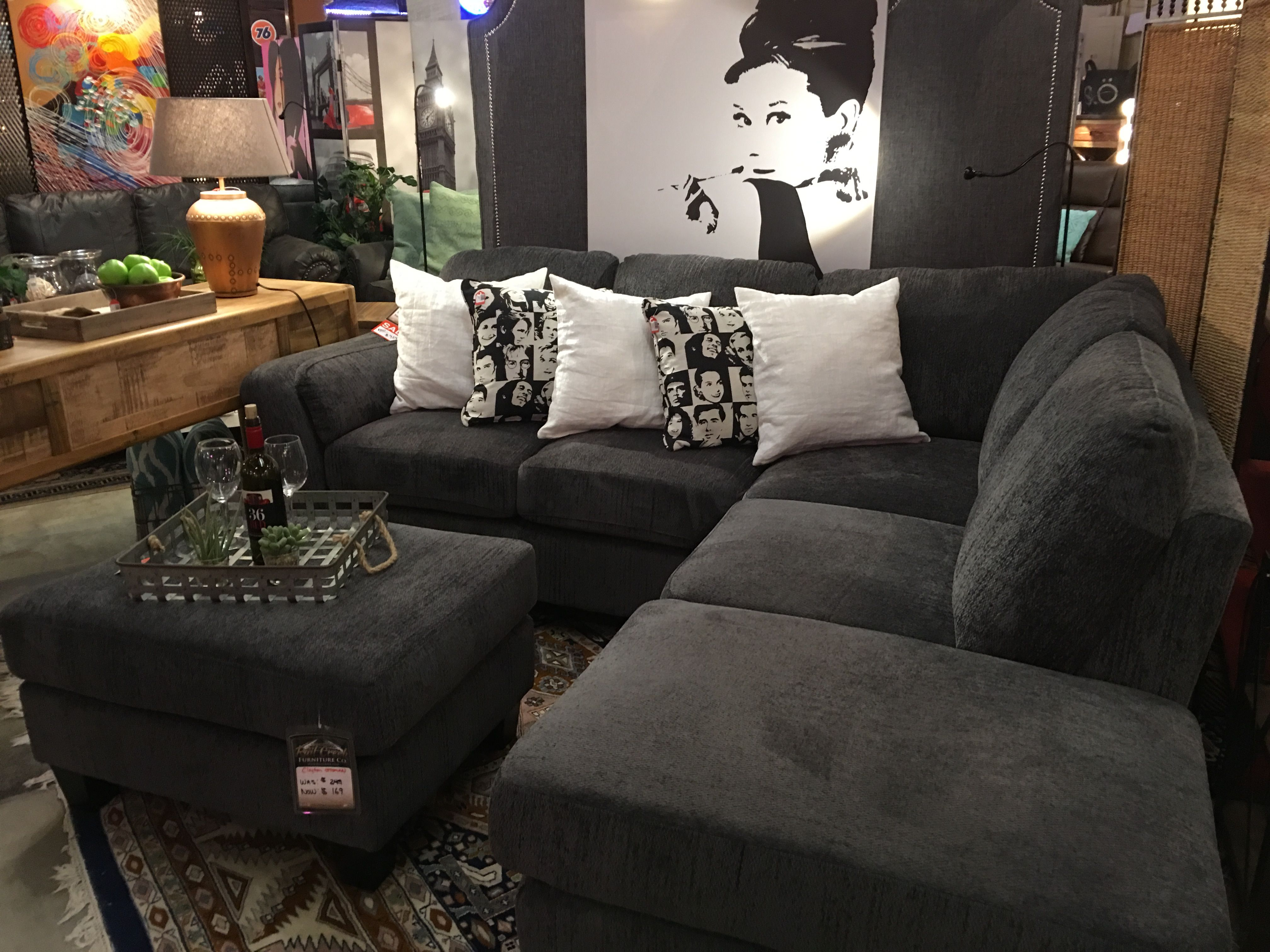 THIS SMALL SECTIONAL IS A BEST SELLER @ RAIL CREEK FURNITURE Co