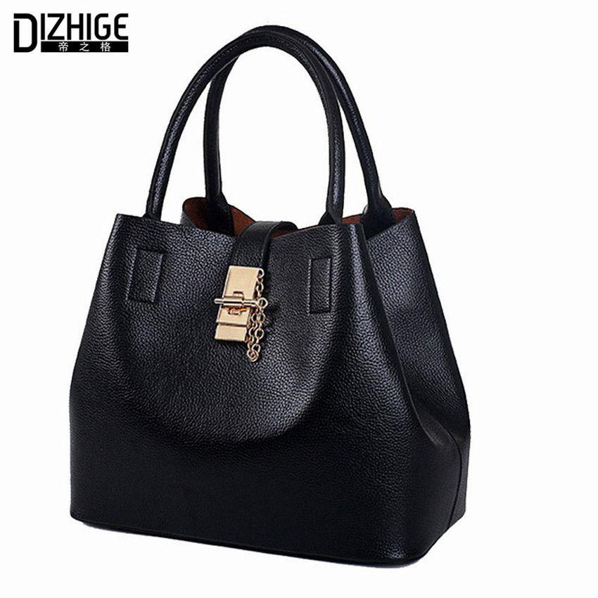 cbfb196a2bd2 ... Compro Qualidade Bolsas de Ombro diretamente de fornecedores da China  2015  Alligator Leather Women Handbag Bolsas De Couro Fashion Famous ...